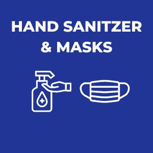 Hand Sanitizer & Masks